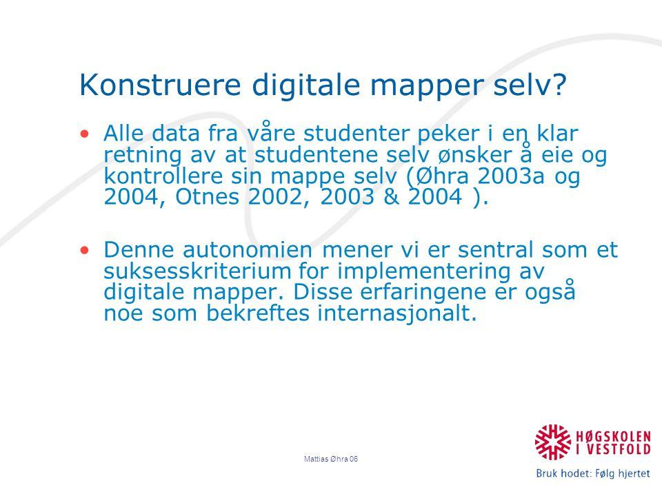 Konstruere digitale mapper selv