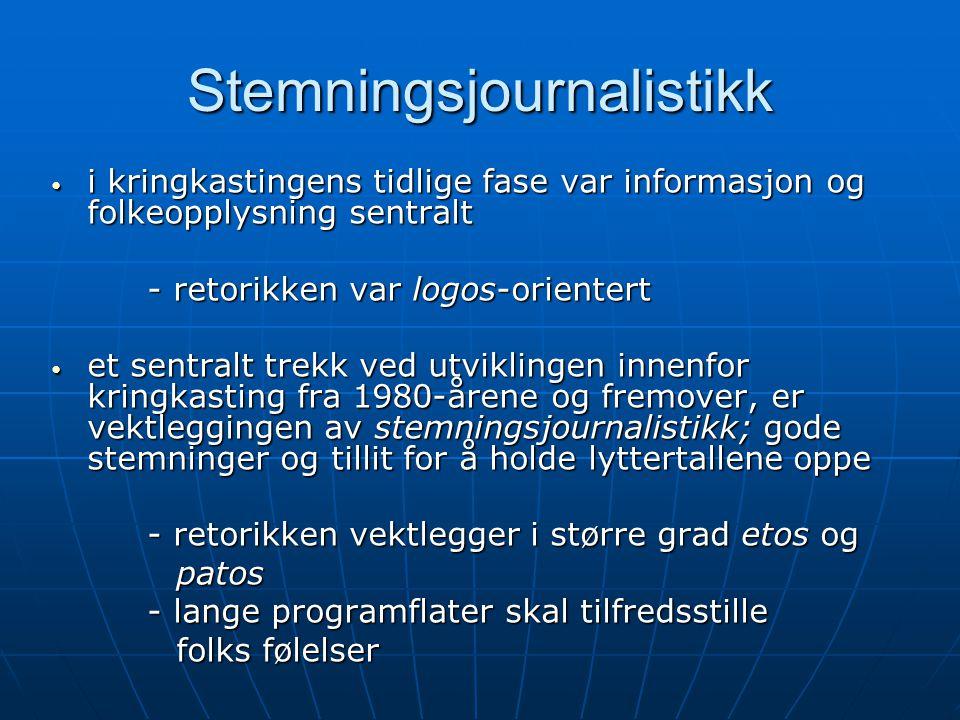 Stemningsjournalistikk