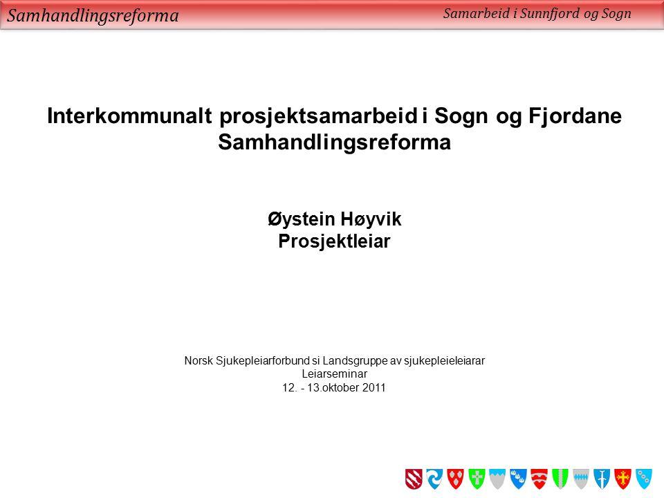 Interkommunalt prosjektsamarbeid i Sogn og Fjordane