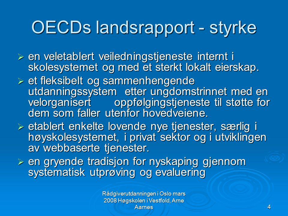 OECDs landsrapport - styrke