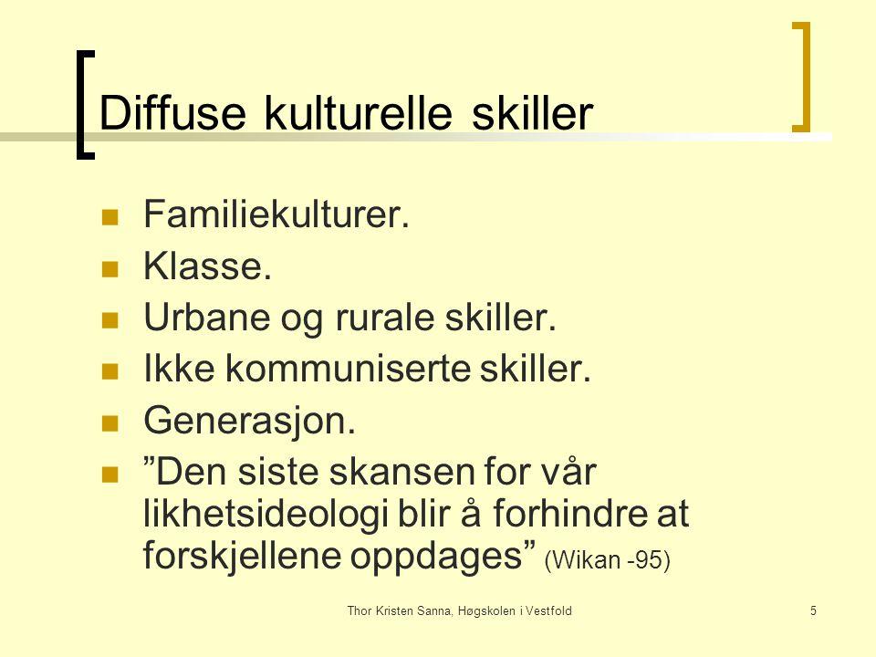 Diffuse kulturelle skiller