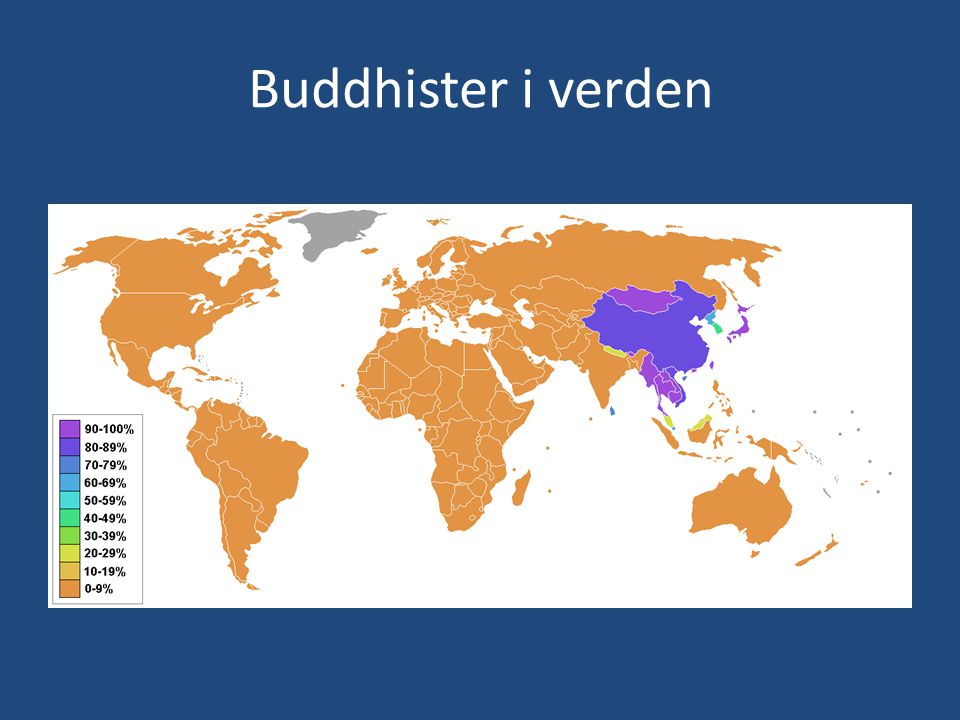Buddhister i verden