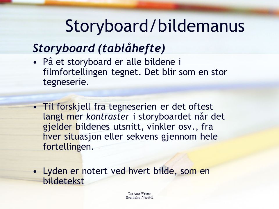 Storyboard/bildemanus