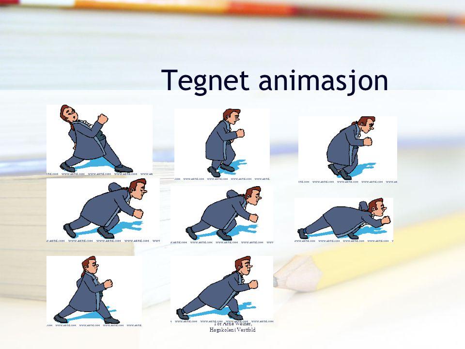 Tegnet animasjon Tor Arne Wølner, Høgskolen i Vestfold