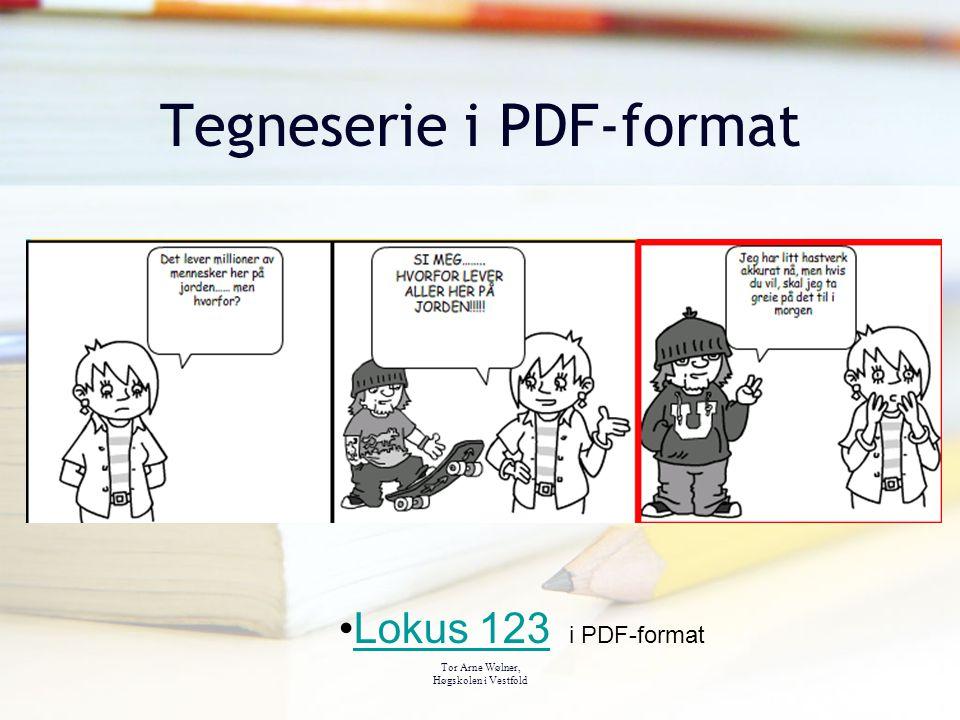 Tegneserie i PDF-format