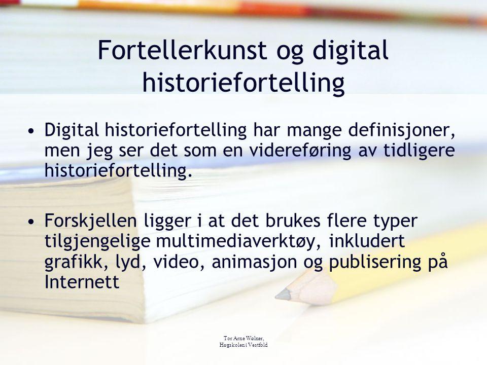 Fortellerkunst og digital historiefortelling