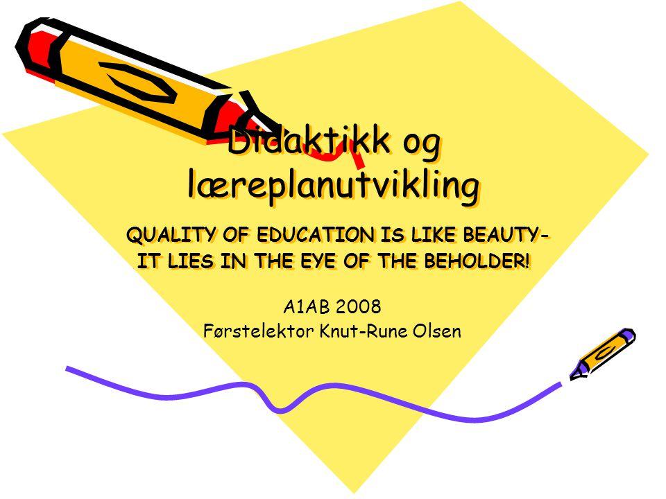 A1AB 2008 Førstelektor Knut-Rune Olsen