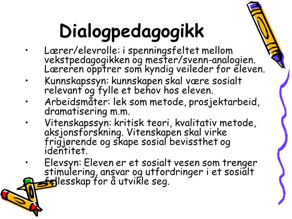 Dialogpedagogikk