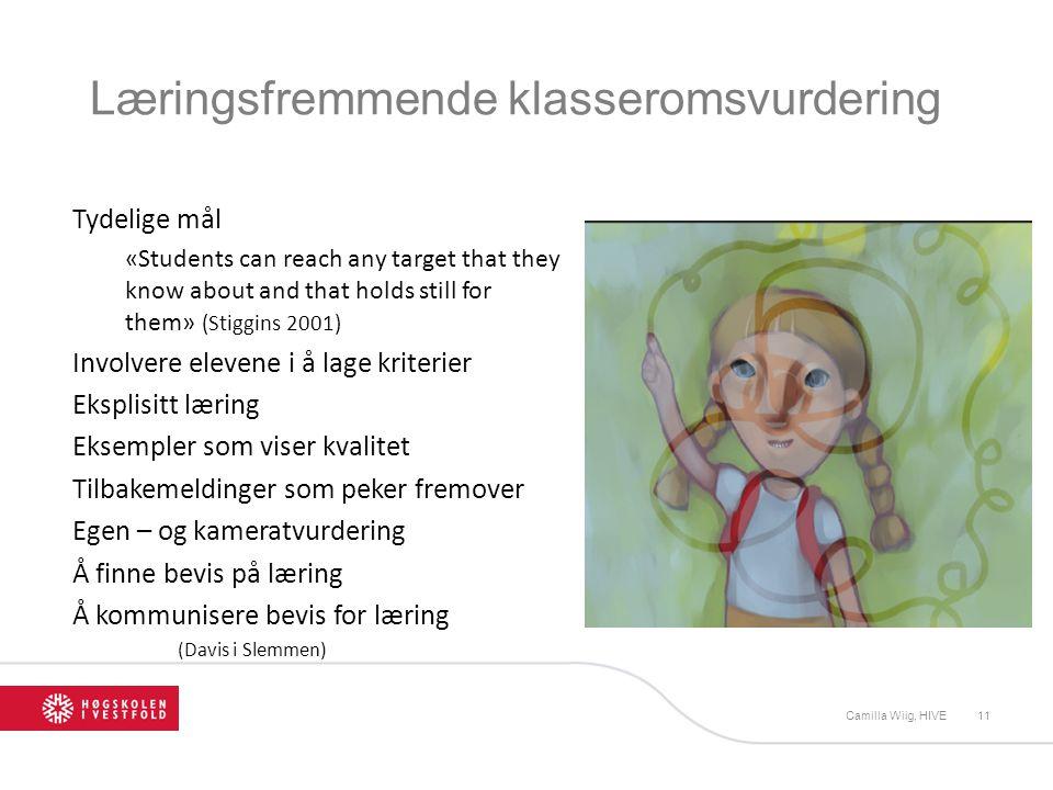 Læringsfremmende klasseromsvurdering