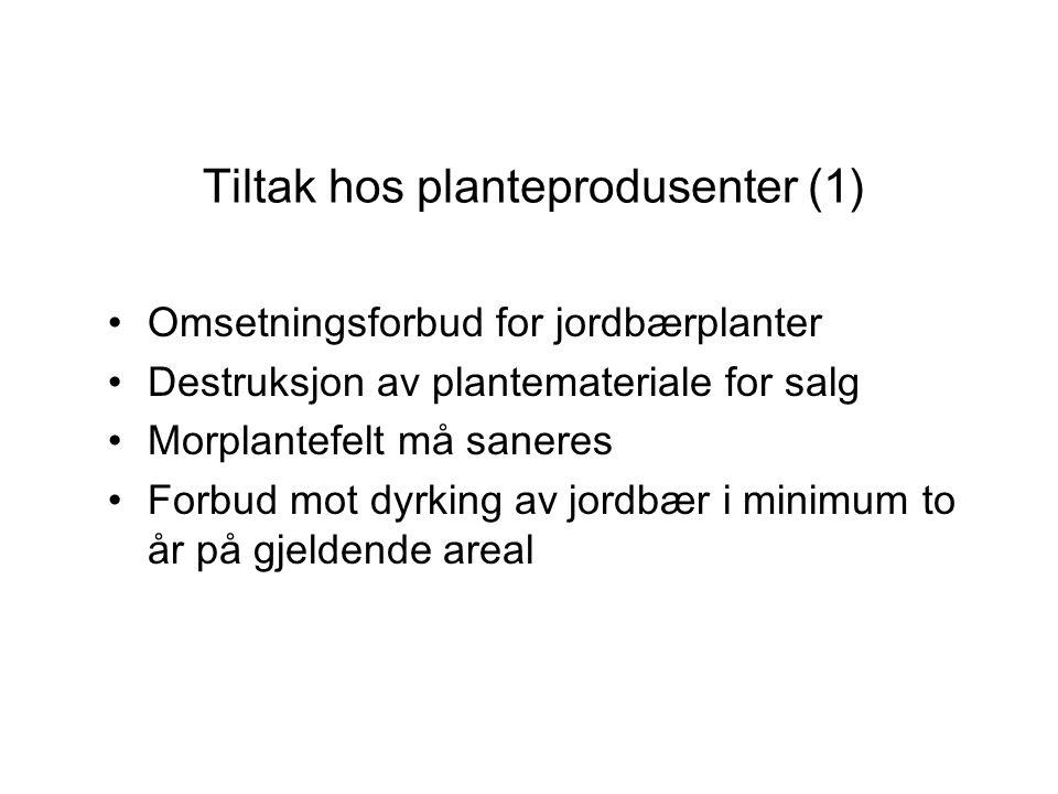 Tiltak hos planteprodusenter (1)