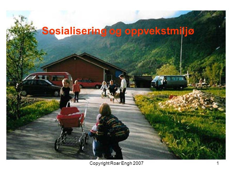 Sosialisering og oppvekstmiljø