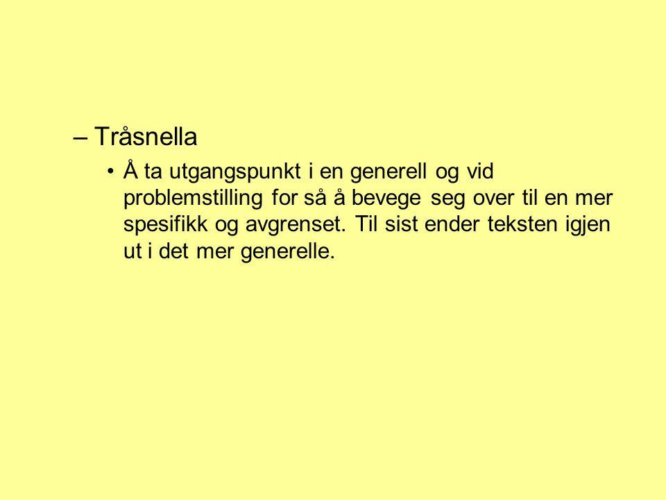 Tråsnella