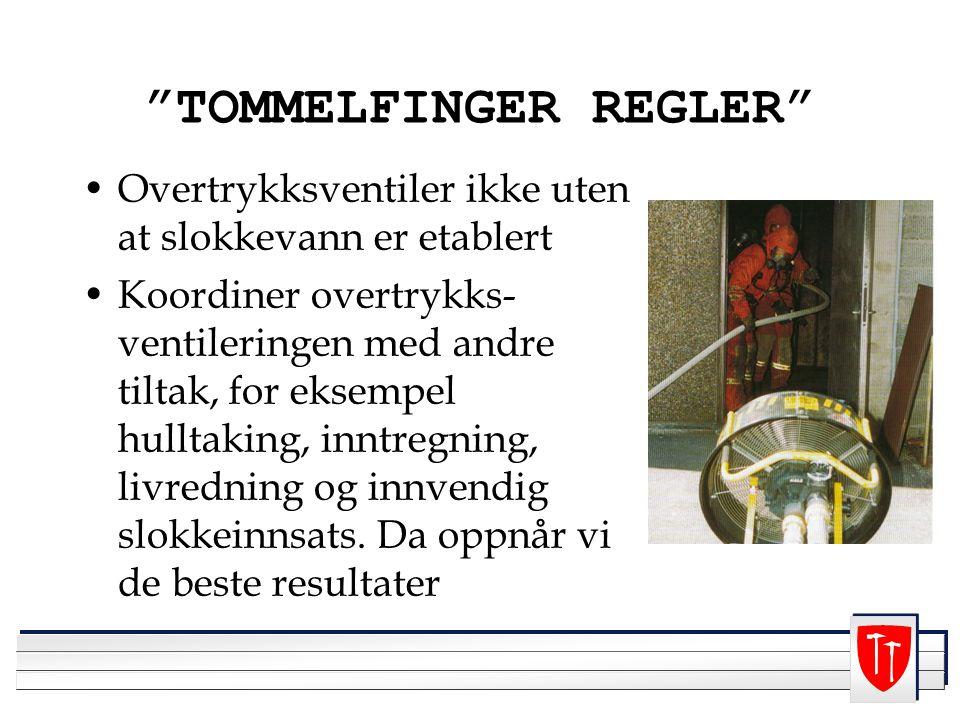TOMMELFINGER REGLER