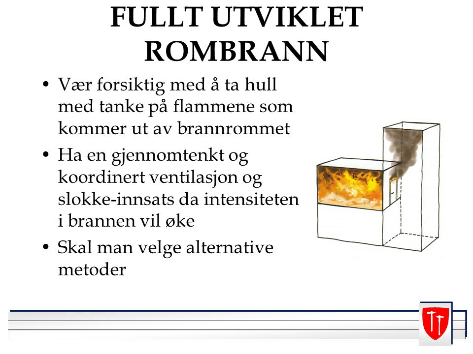 FULLT UTVIKLET ROMBRANN