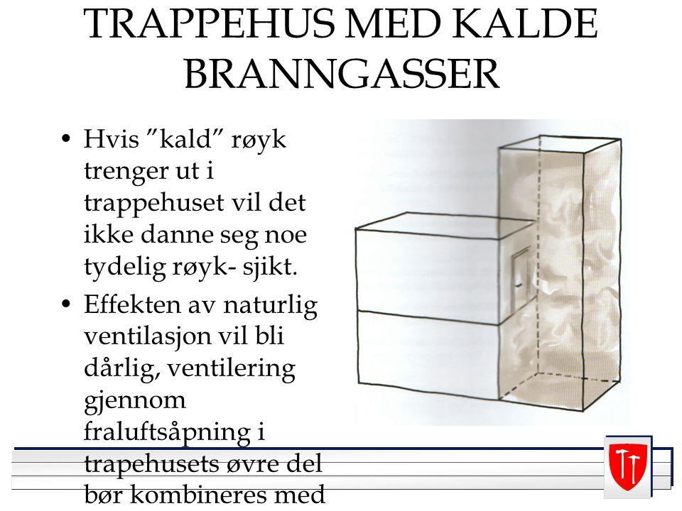 TRAPPEHUS MED KALDE BRANNGASSER