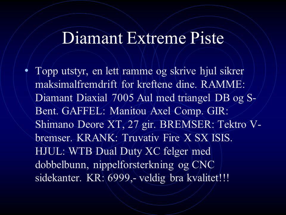 Diamant Extreme Piste