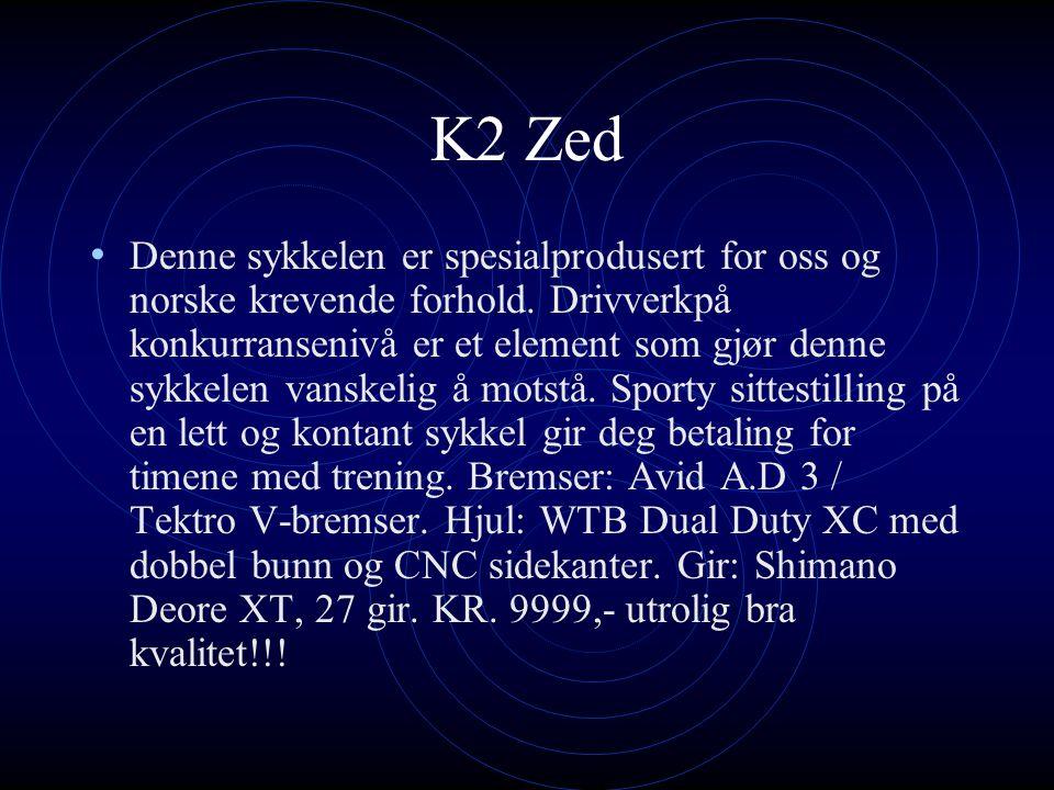 K2 Zed