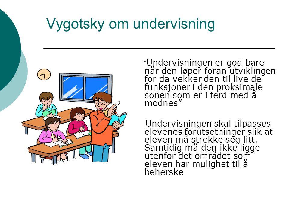 Vygotsky om undervisning