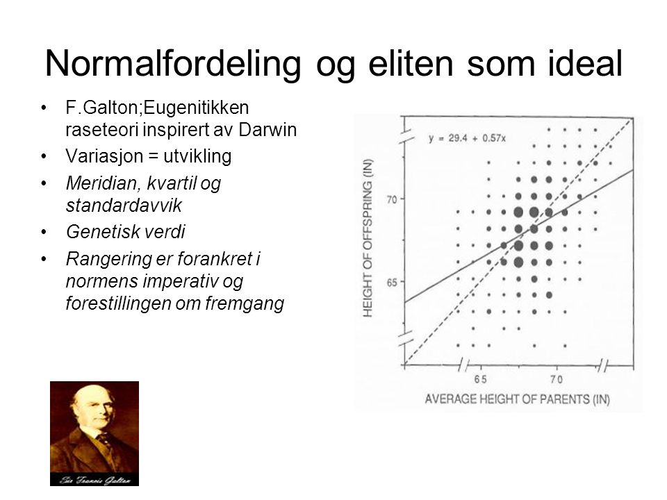Normalfordeling og eliten som ideal