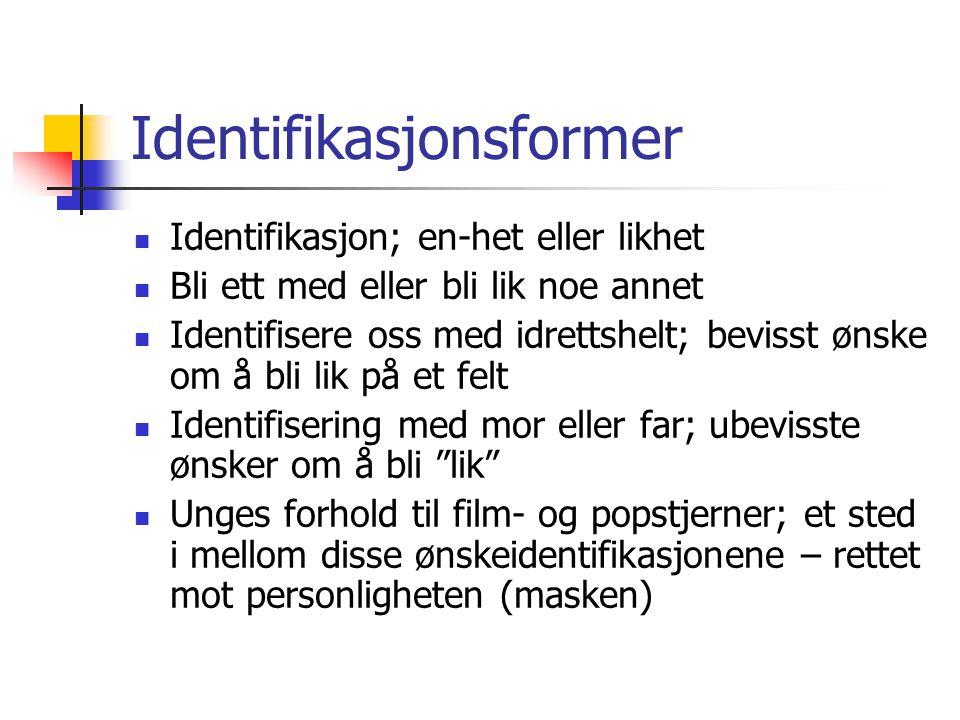 Identifikasjonsformer
