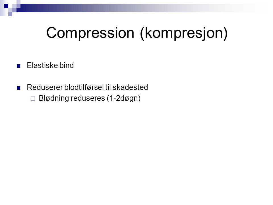 Compression (kompresjon)