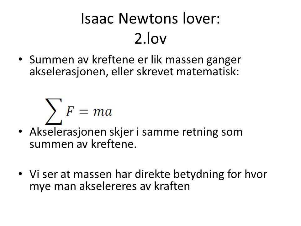Isaac Newtons lover: 2.lov