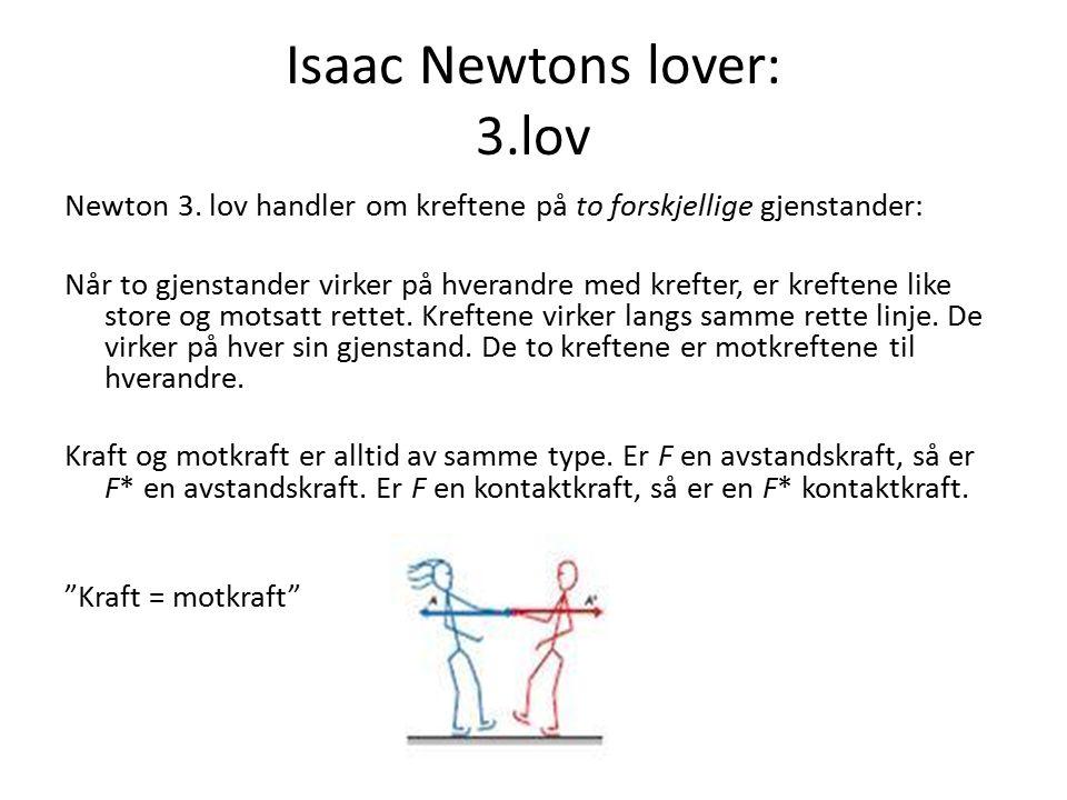 Isaac Newtons lover: 3.lov