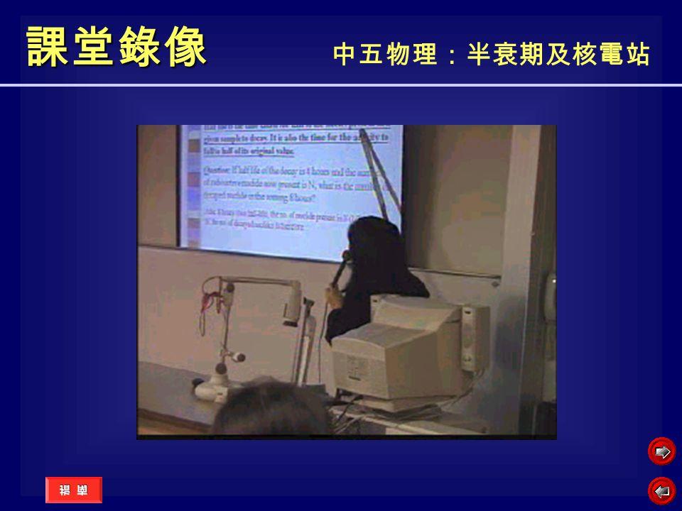 課堂錄像 中五物理:半衰期及核電站