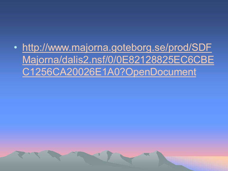 http://www. majorna. goteborg. se/prod/SDFMajorna/dalis2