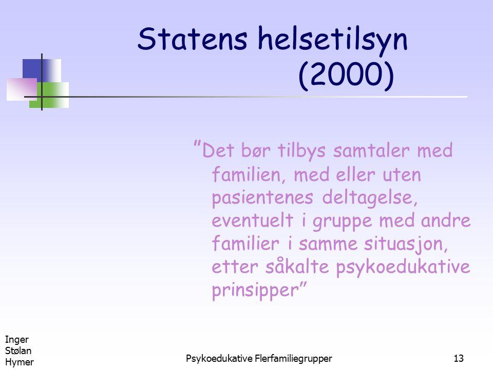 Statens helsetilsyn (2000)