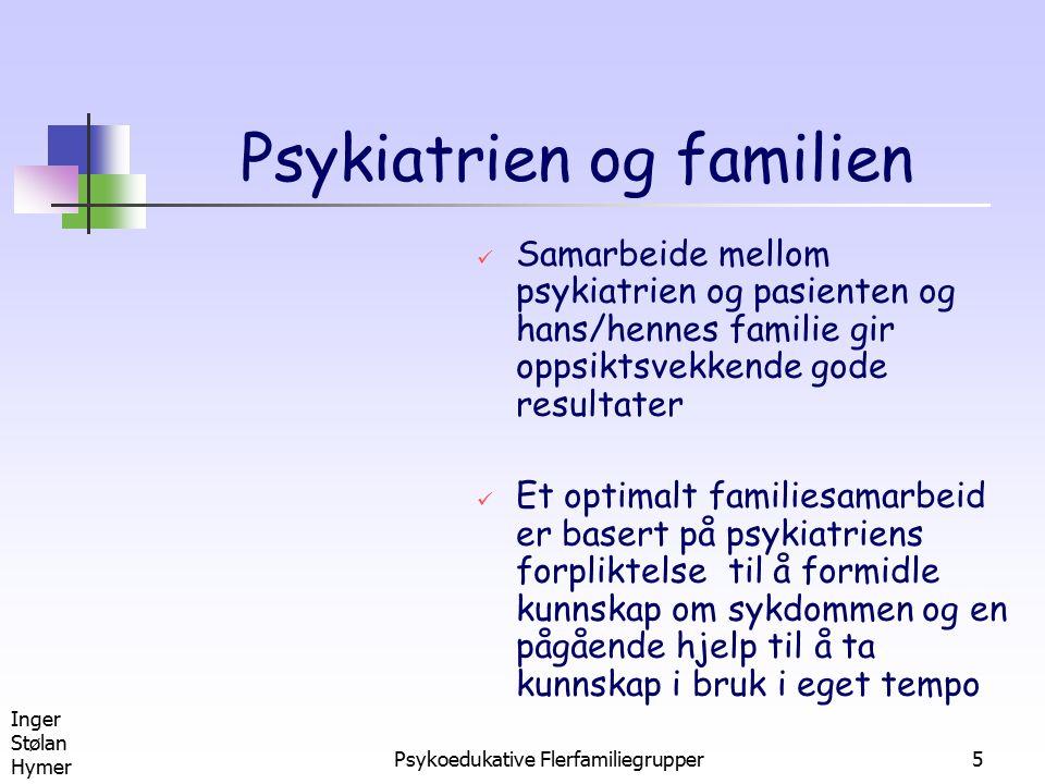 Psykiatrien og familien