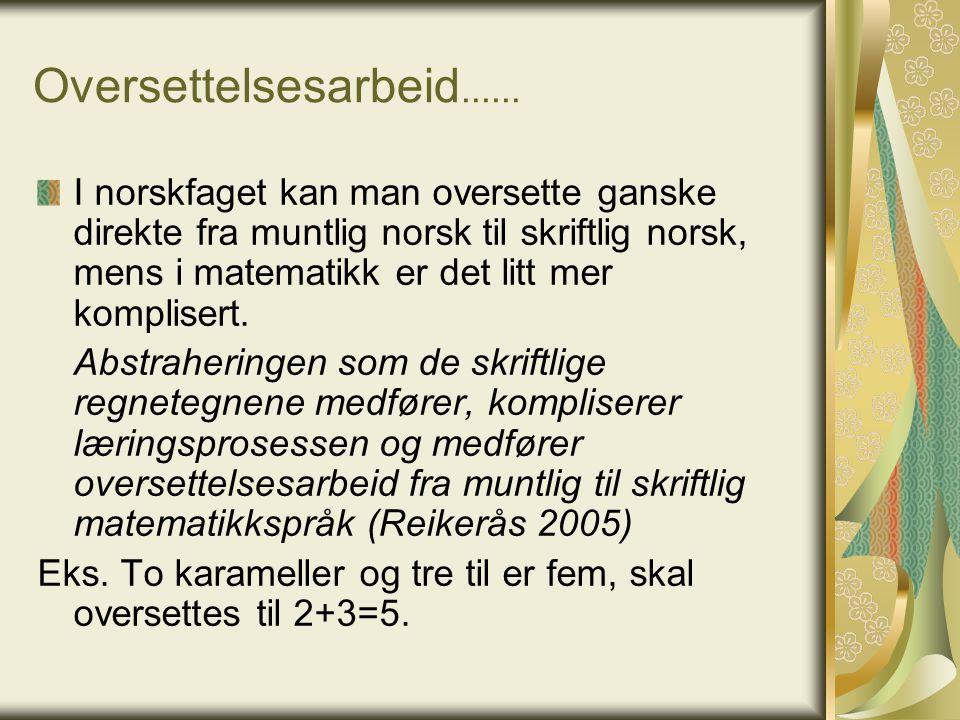 Oversettelsesarbeid......