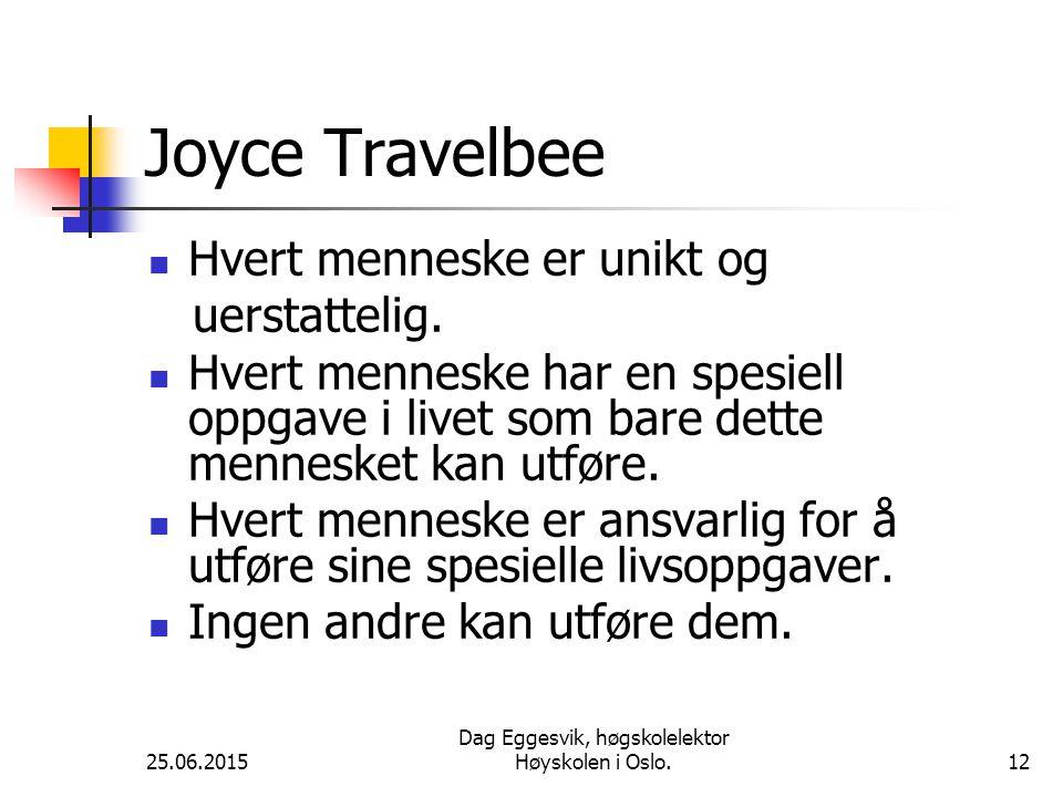 Dag Eggesvik, høgskolelektor Høyskolen i Oslo.