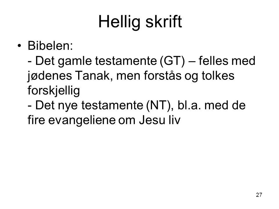Hellig skrift