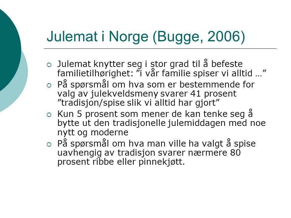 Julemat i Norge (Bugge, 2006)