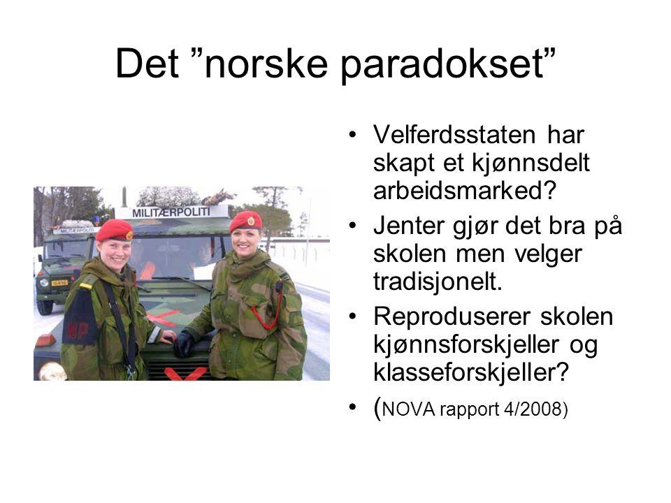 Det norske paradokset