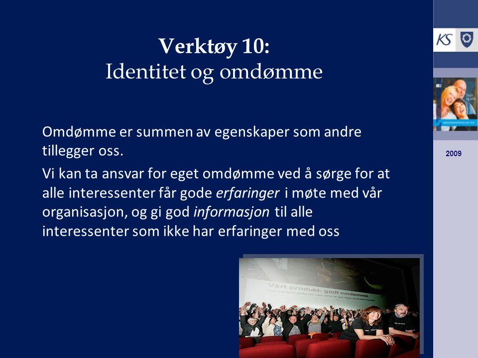 Verktøy 10: Identitet og omdømme