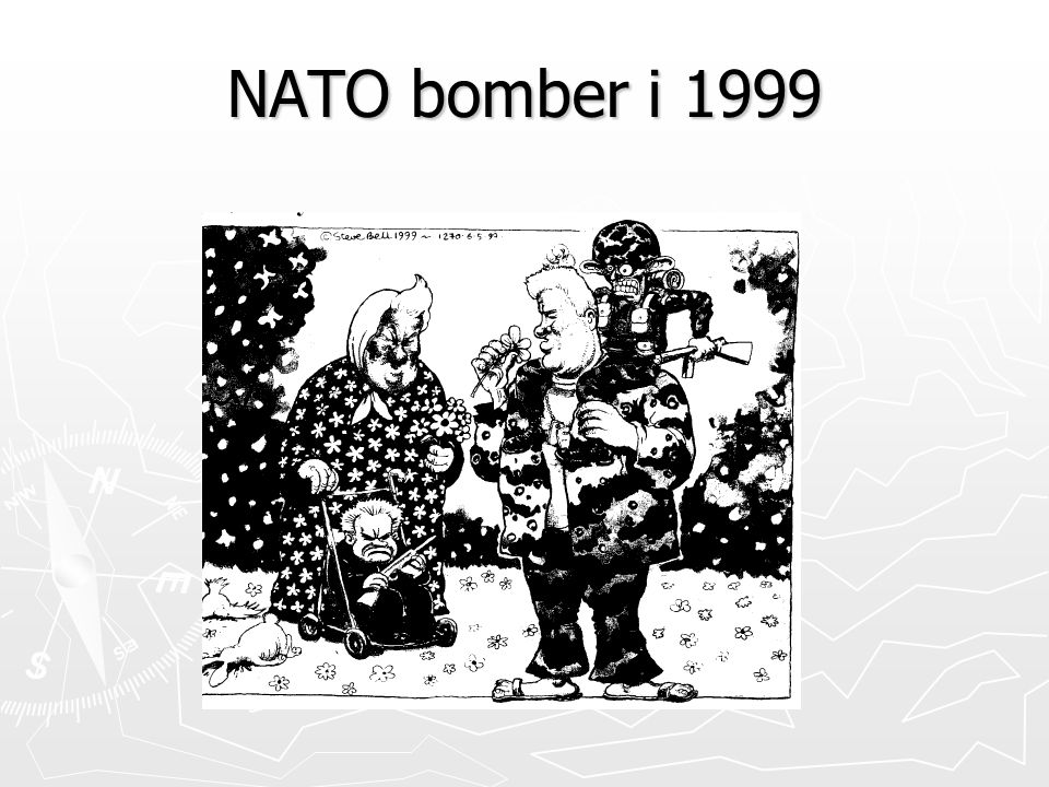 NATO bomber i 1999
