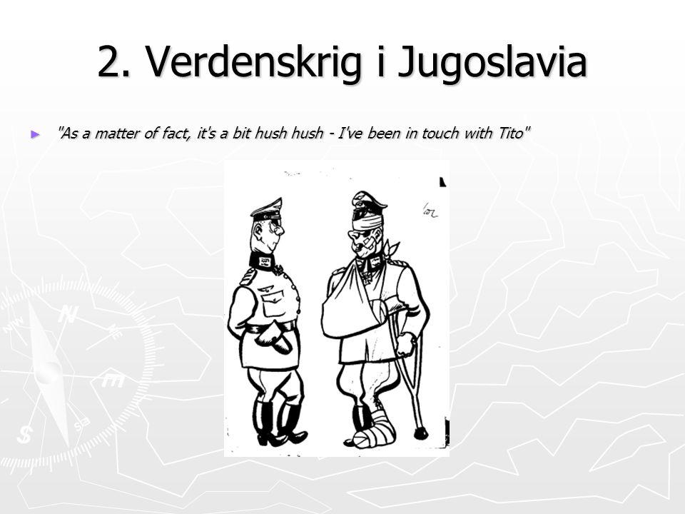 2. Verdenskrig i Jugoslavia
