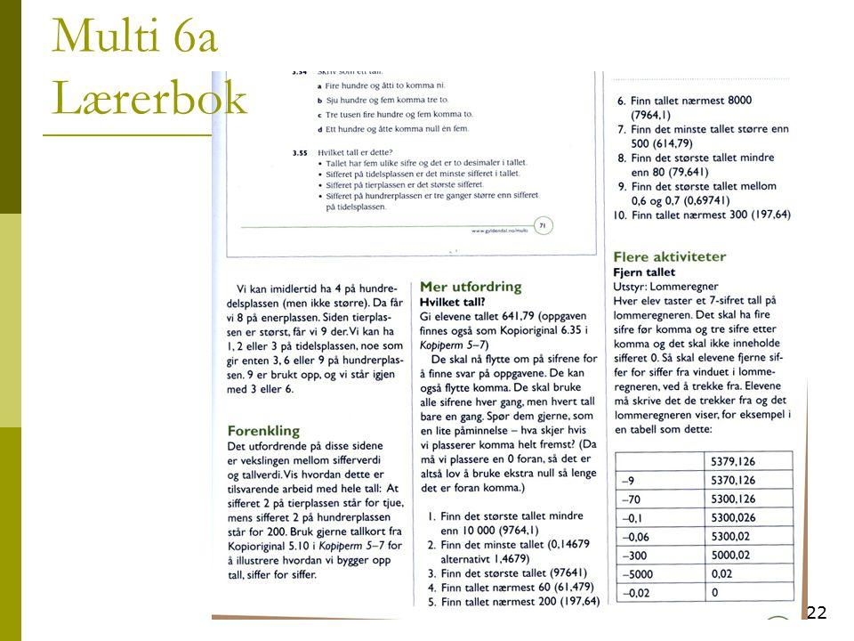 Multi 6a Lærerbok 22