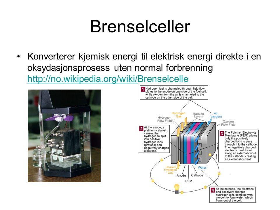 Brenselceller