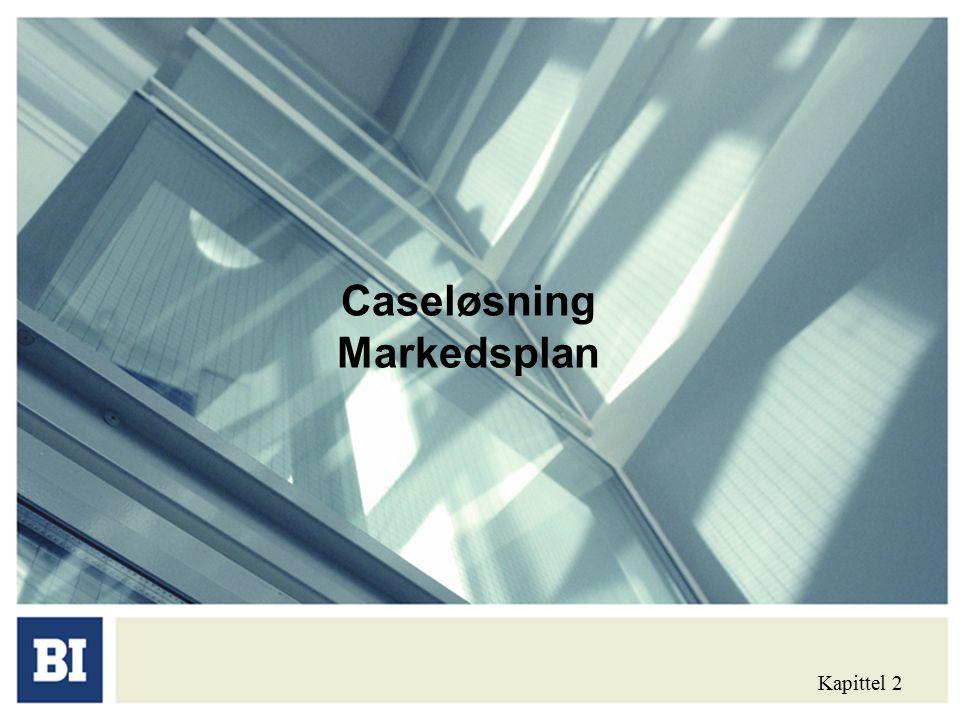 Caseløsning Markedsplan