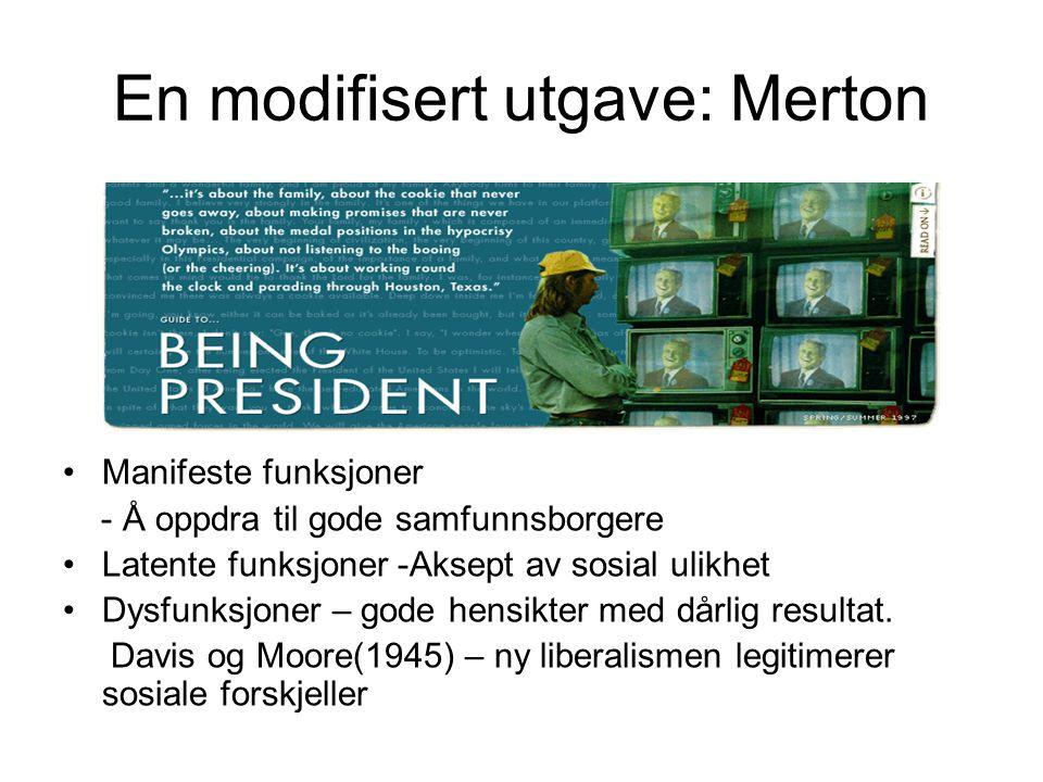 En modifisert utgave: Merton
