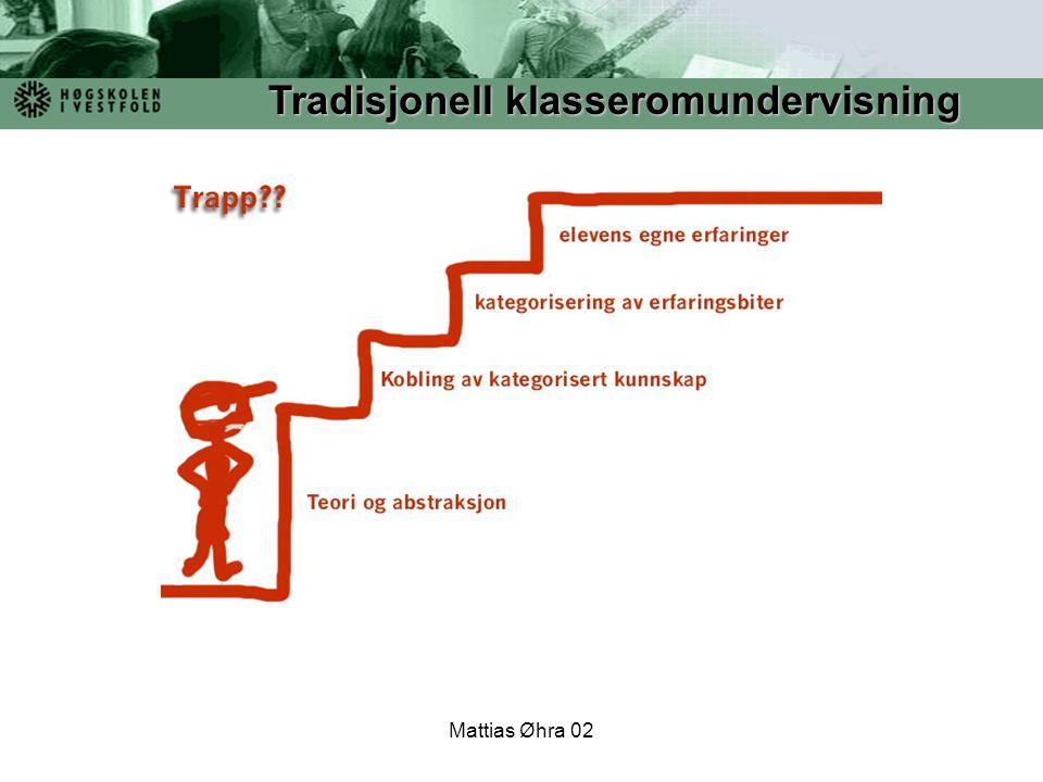 Tradisjonell klasseromundervisning