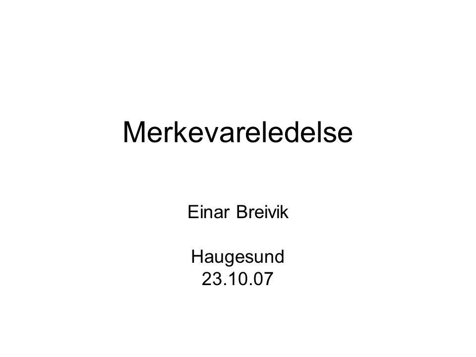 Einar Breivik Haugesund 23.10.07