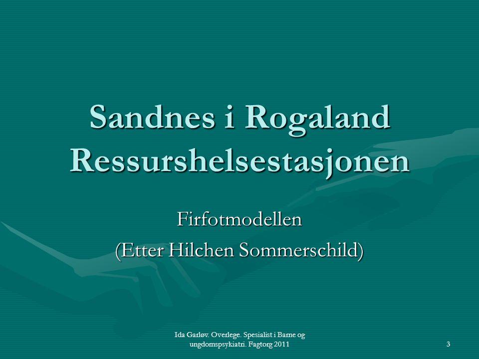 Sandnes i Rogaland Ressurshelsestasjonen