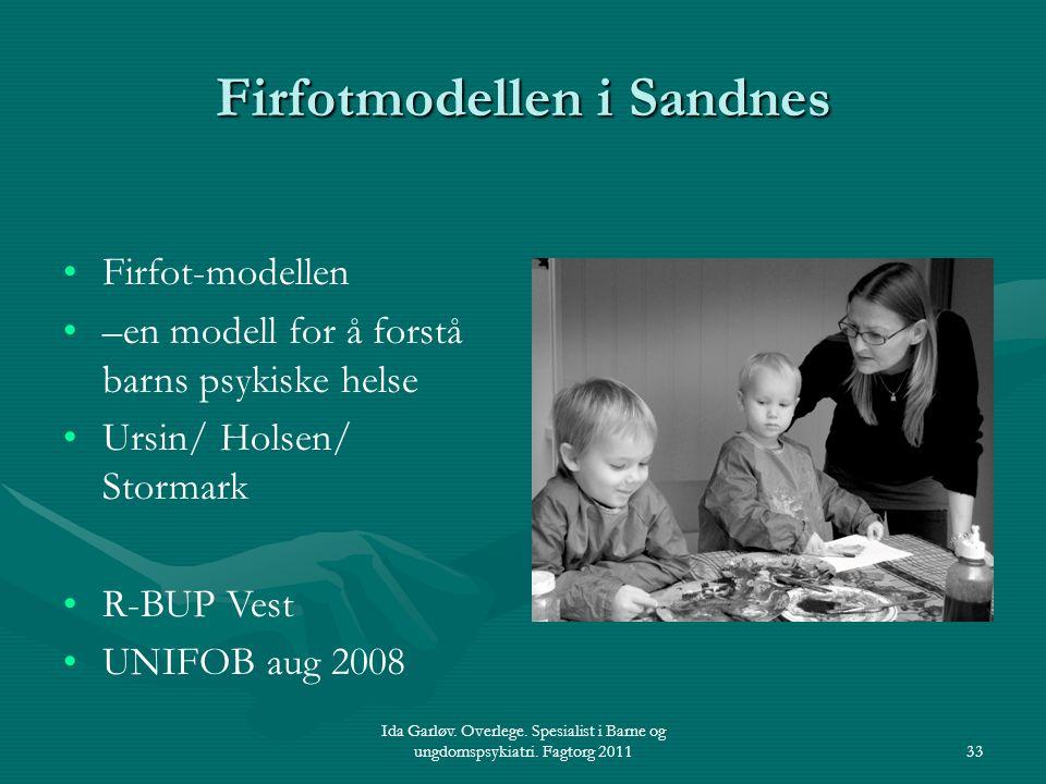 Firfotmodellen i Sandnes