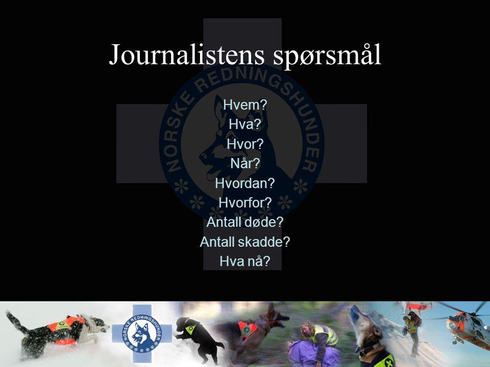 Journalistens spørsmål