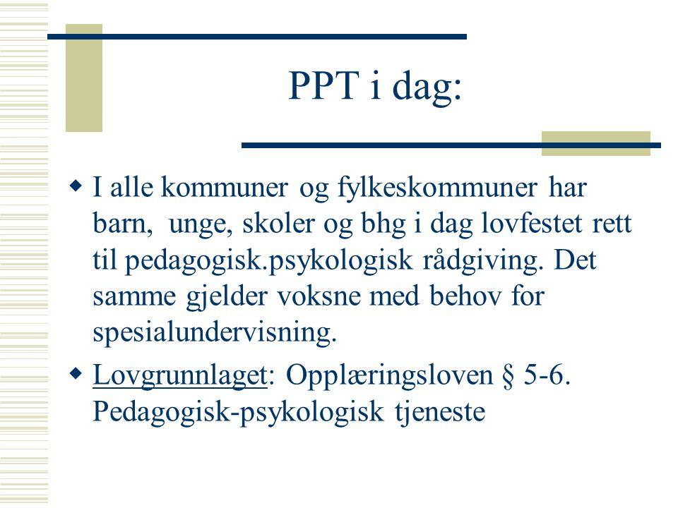 PPT i dag: