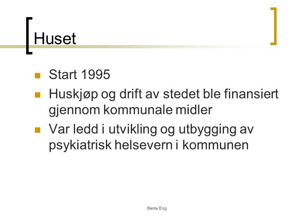 Huset Start 1995. Huskjøp og drift av stedet ble finansiert gjennom kommunale midler.